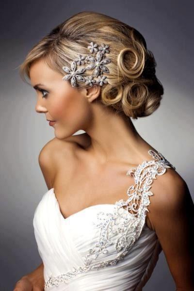 vintage hairstyles wedding