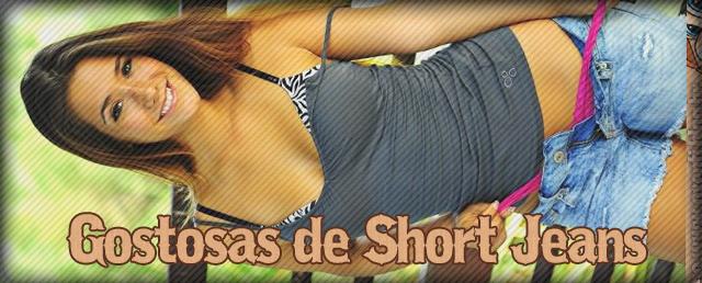gostosas de short jeans