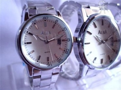 Arloji Jam Tangan ALBA Couple With Date