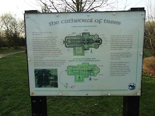 The Cathedral of Trees Information Sign