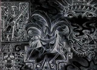 Aztecs graphic work