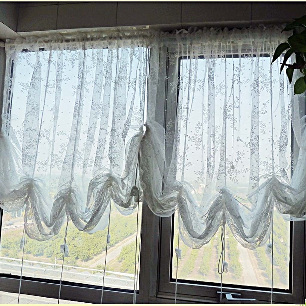 Balloon Pants Pictures: Balloon Lace Curtains