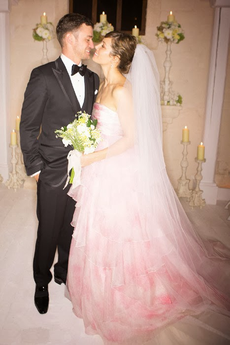 Giambattista Valli rose-pink strapless gown