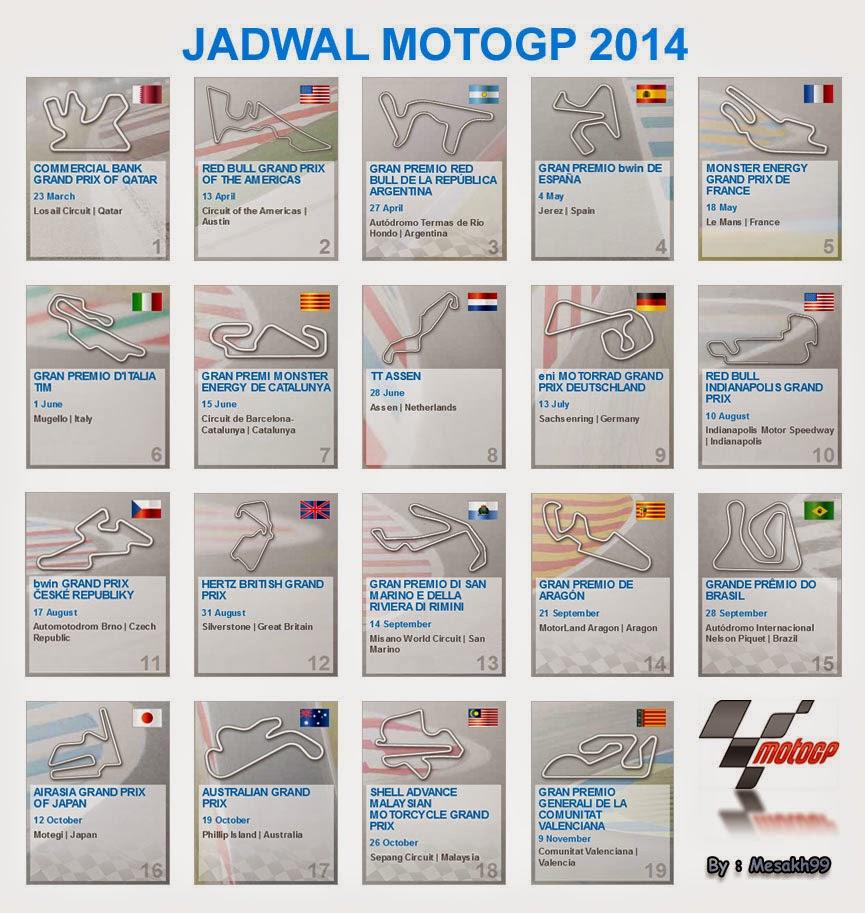 Jadwal MotoGP 2014 Live di Trans7 - Dunia Baru Mezack