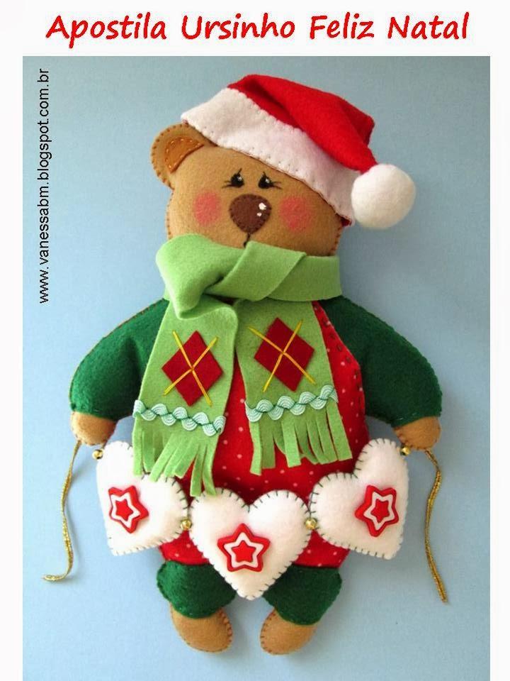 Apostila Ursinho Feliz Natal