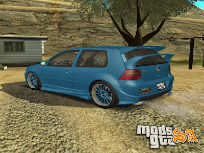 Volkswagen Golf R32 WideBody para GTA San Andreas