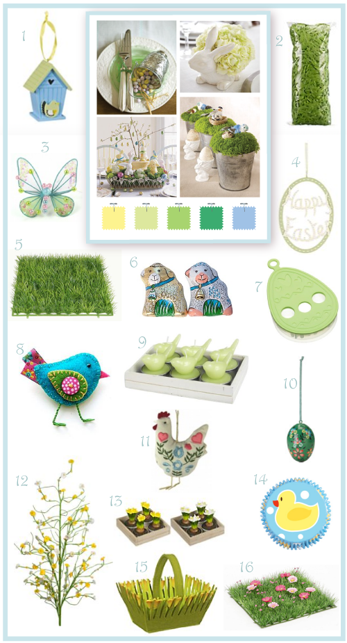 Natural Easter finds by Torie Jayne