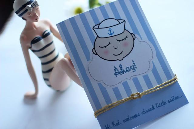 tarjetas personalizadas bebes