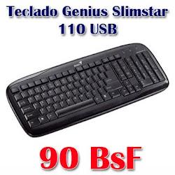 Teclado Genius Slimstar 110 USB