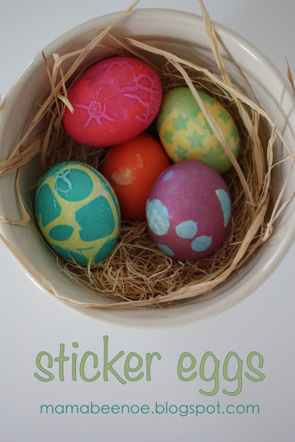 sticker eggs