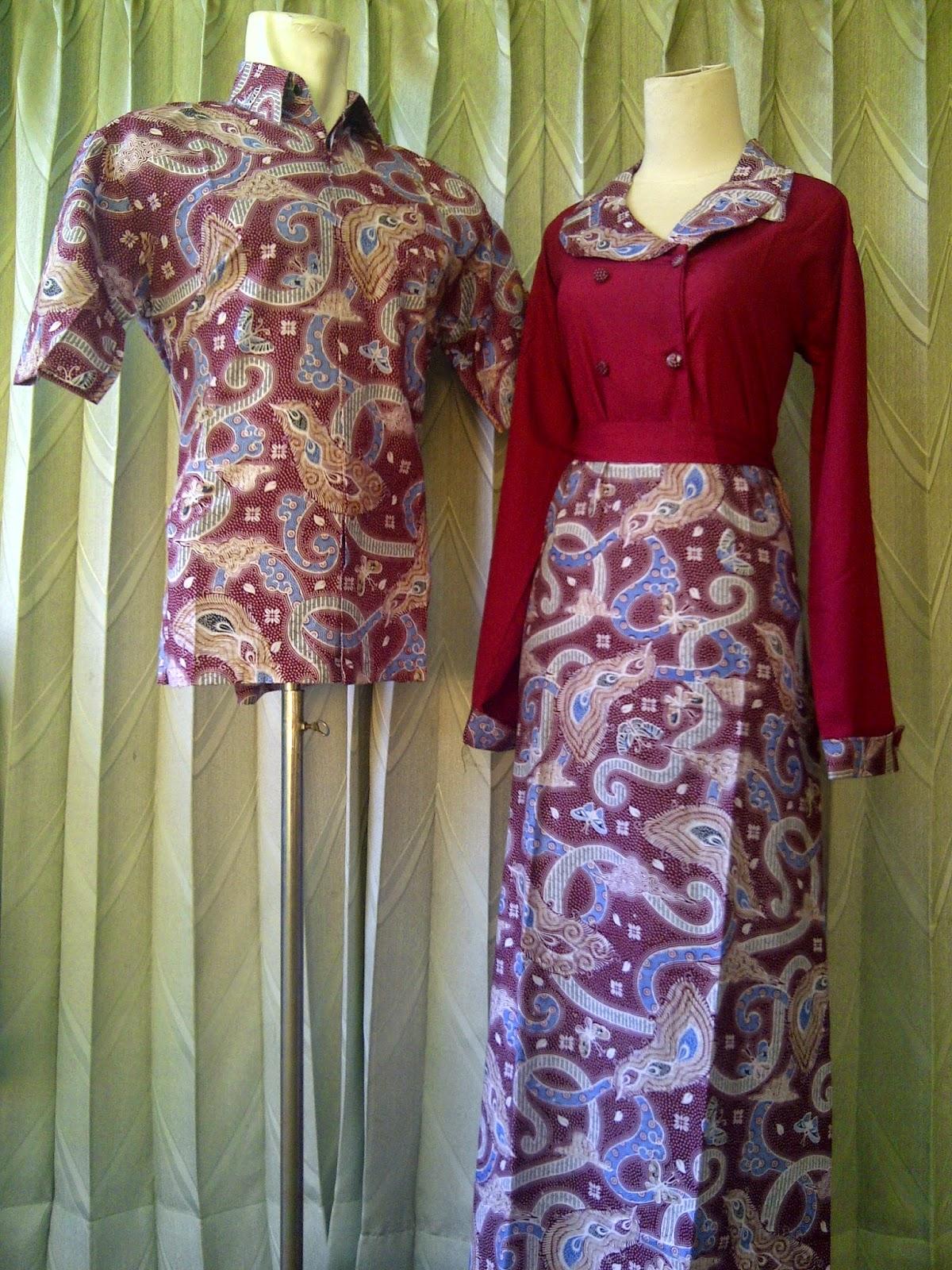 Foto Model Baju Batik Sarimbit Couple Terbaru Gaya Masa