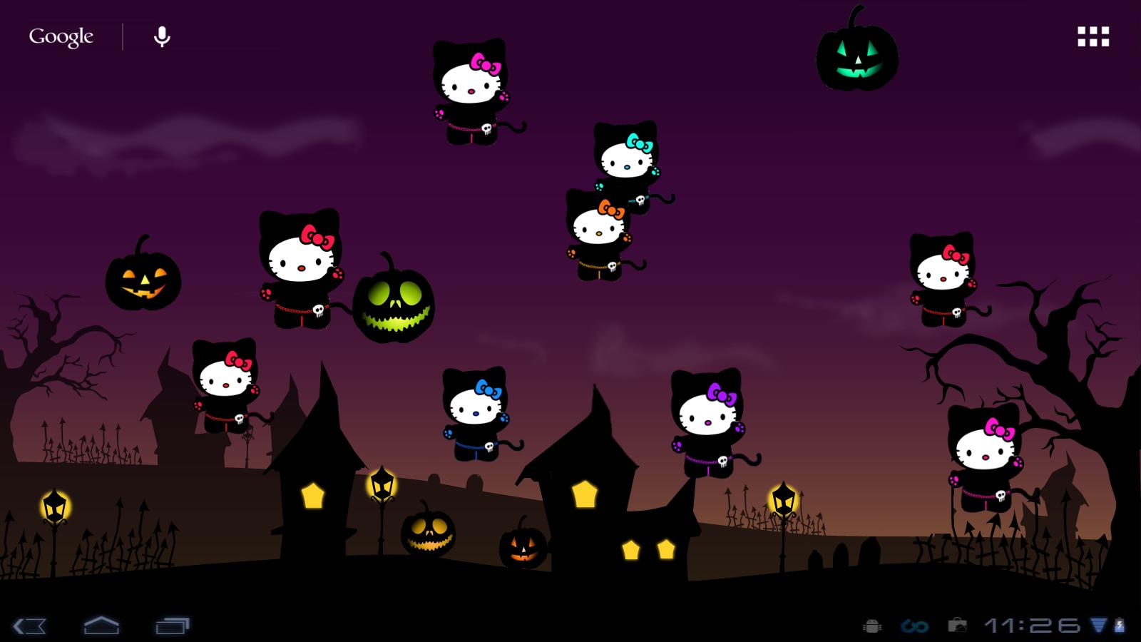 hello kitty loft: hello kitty halloween live wp