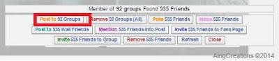 Script Auto Post ke semua Grup Facebook
