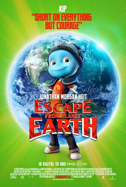 Phim Hoạt Hình Thoát Khỏi Trái Đất - Escape From Planet Earth - 2013