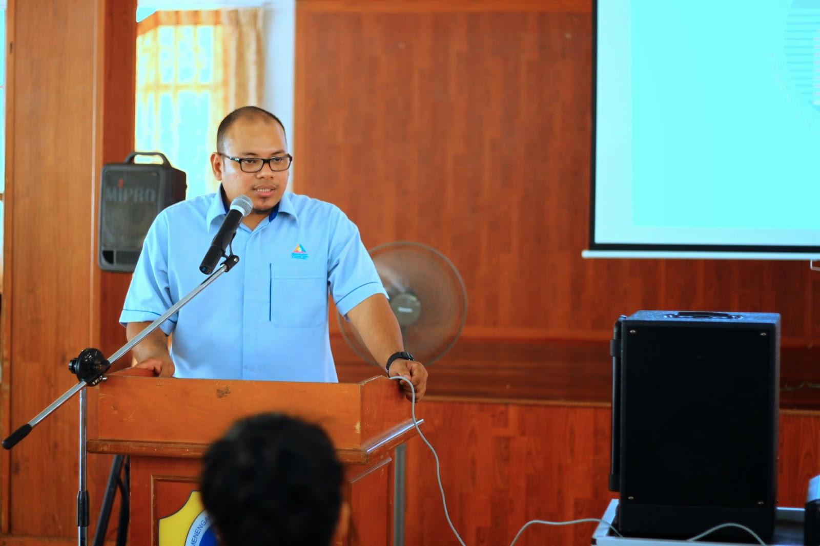 En Tahir Musa (MCMC) berkongsikan info mengenai Pertandingan Liga Remaja Kreatif 2014