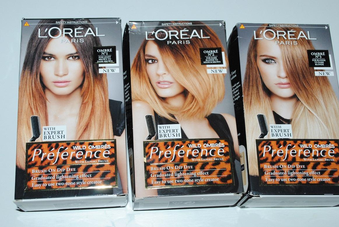 Hair Dye L'Oreal Ombre Kit