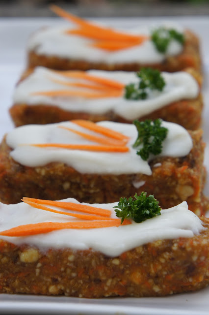 "Kid Can Eat!: Mother's Day: Frosted ""Carrot Cake"" Bars"
