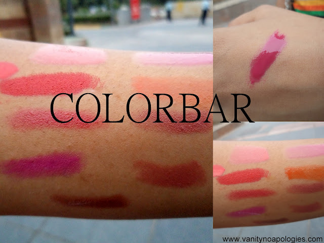 colorbar swatches