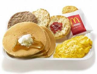 Daftar Harga Menu Breakfast MCD McDonald Terbaru