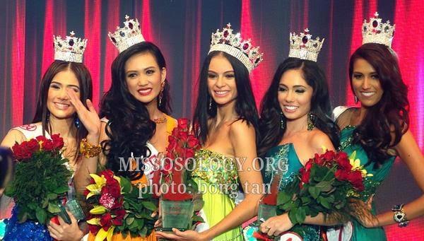 Miss World Philippines 2014 winners