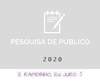 Pesquisa de Público 2020