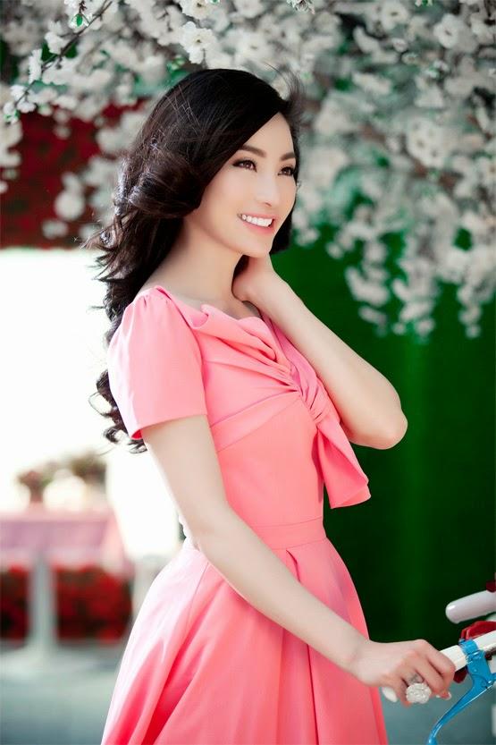 Ngắm hoa hậu My Na Le|raw