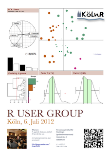 Next Kölner R User Meeting: 6 July 2012