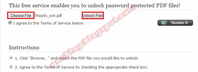 Remove Password Protected PDF Files