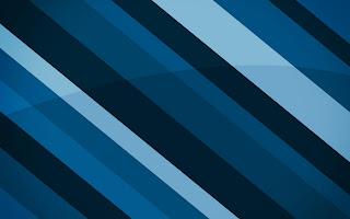Cool Blue Stripes HD Wallpaper
