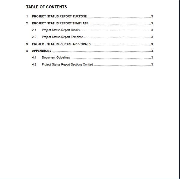 free microsoft word report templates