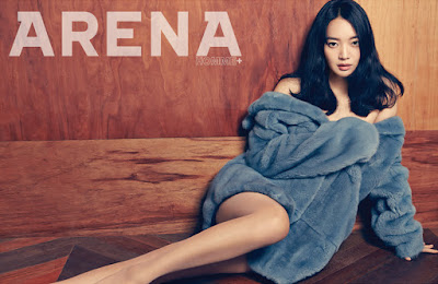 Shin Min Ah Arena Homme Plus December 2015
