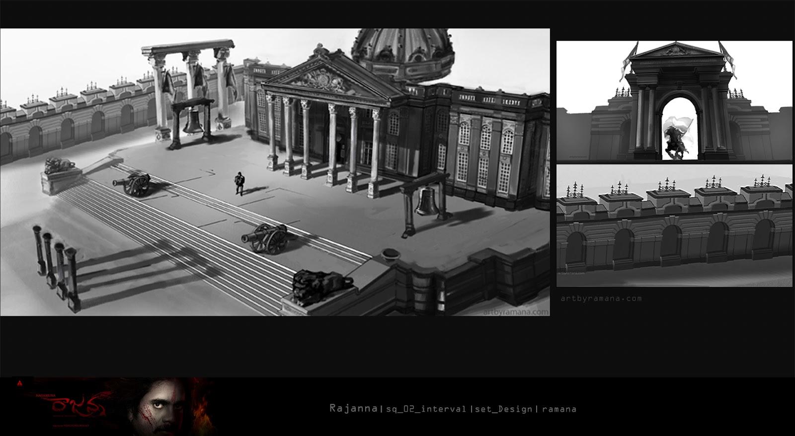 Artbyramana set design for Movie set design