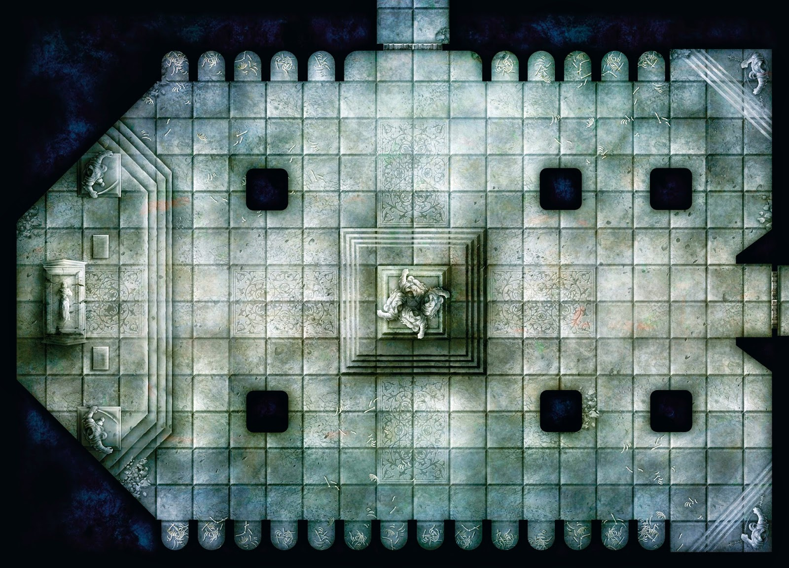 picture relating to Free Printable Dungeon Tiles named Absolutely free dungeon tiles toward print