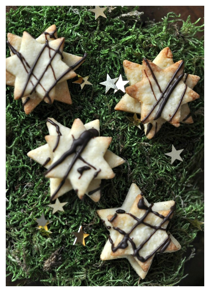 stapled nougat cookies, a gluten free treat for christmas all children will love