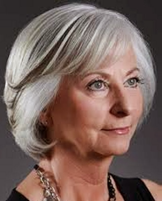 Short Hairstyles for Women Over 60 | Fiddlersfolly Blog
