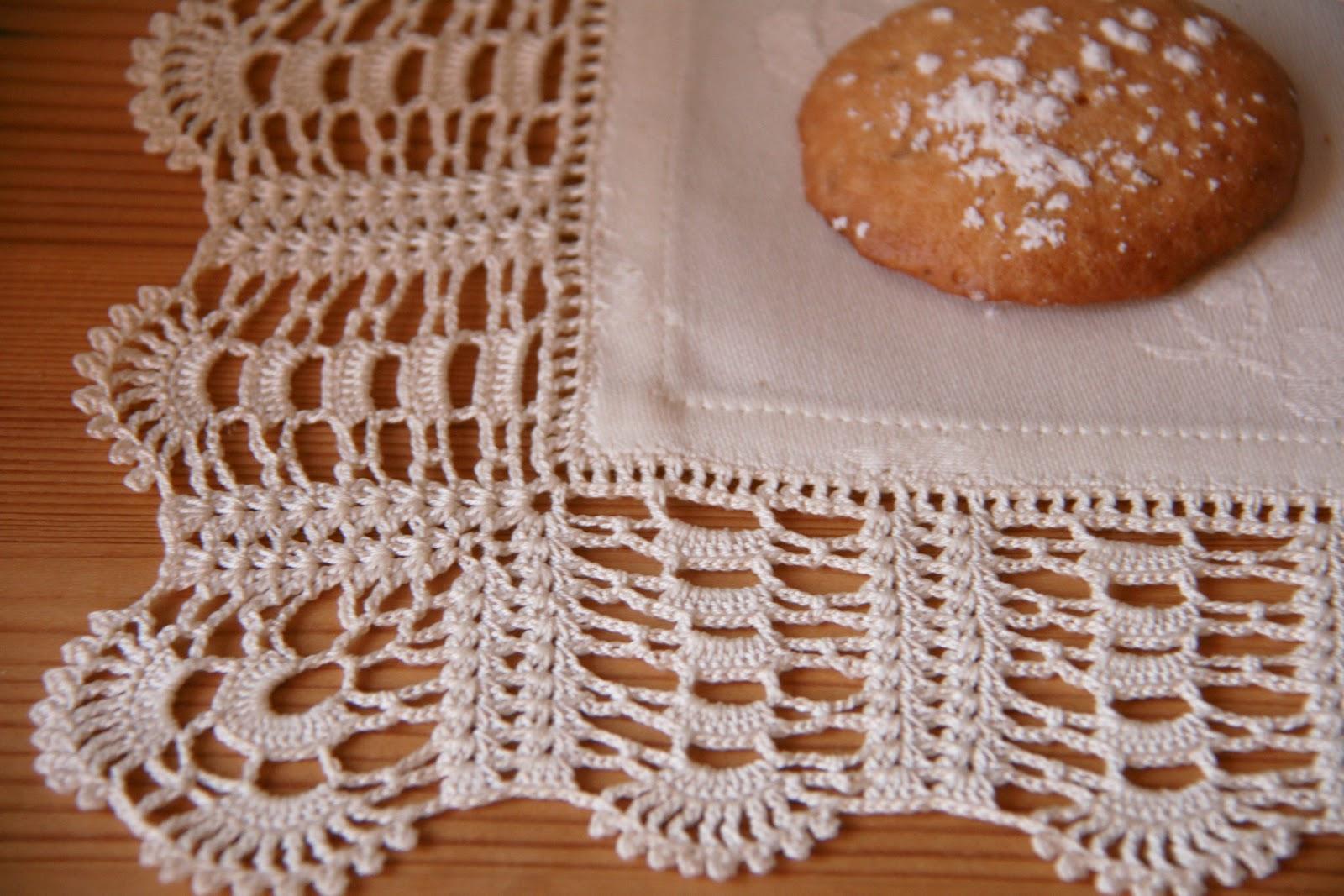 La tricoteca manteler a de ganchillo - Manteles de tela ...
