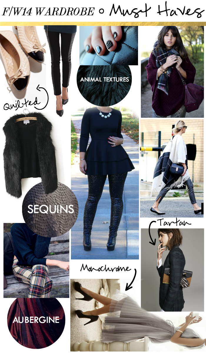 Rachel's F/W14 Wardrobe Musts