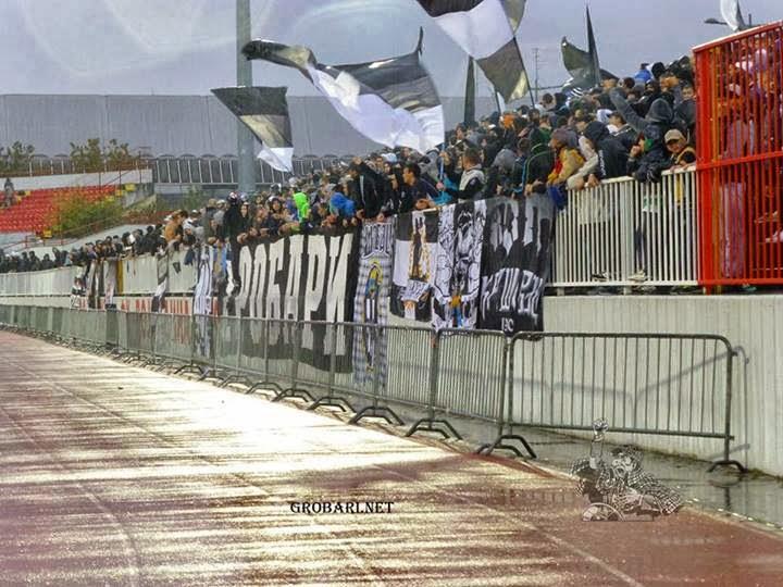 de la saison en championnat pour le Partizan battu à Novi sad