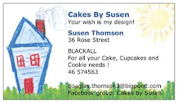 Call in and talk to me about your cake or cookie needs !