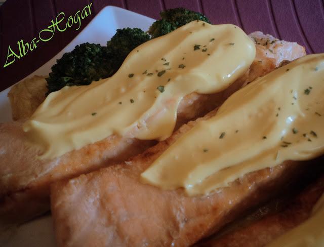 salmón a la mostaza alba hogar