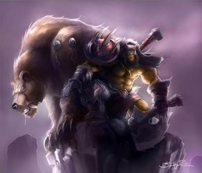 Dota Rexxar Wallpaper, The Beastmaster Roaring