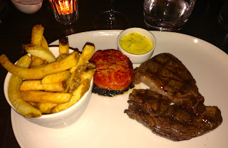 Rib eye steak Chapel 1877 Cardiff