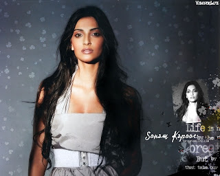 Bollywood Beautiful Actress Sonam Kapoor Latest Wallpaper And Photos