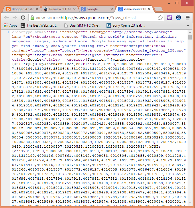 Google Source Code