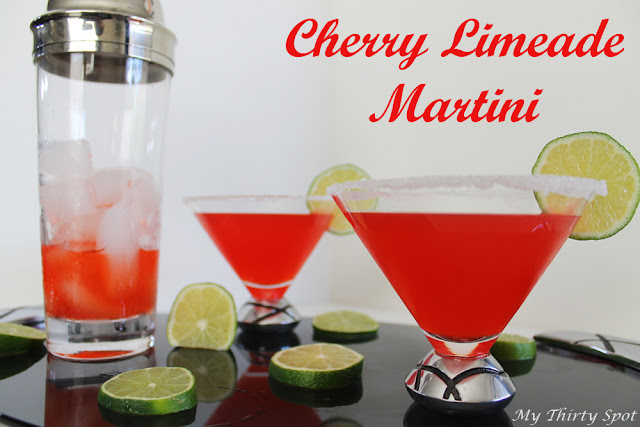 Cherry Limeade Martini