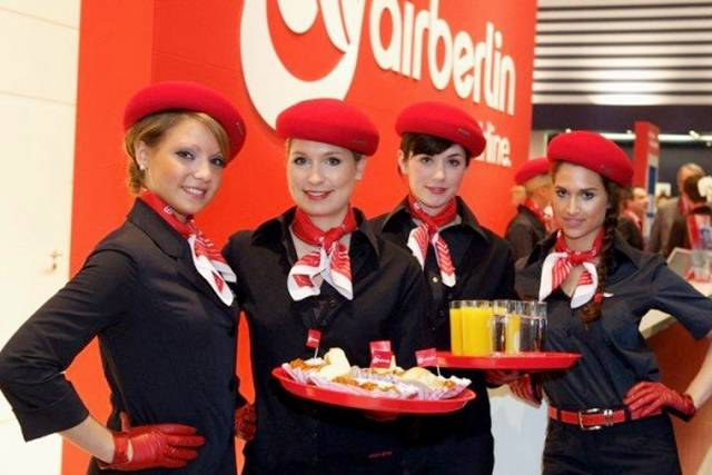 22Germany252CAirBerlinAirHostess - Air Hostess From Different Countries