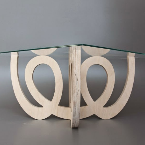 13 awesome art deco wood coffee table designs for elegant Wood and glass coffee table designs