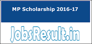 MP Scholarship 2016-17
