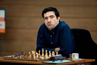 Rien ne va plus pour Vladimir Kramnik qui a perdu deux fois de suite - Photo © site officiel