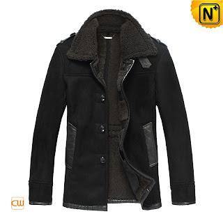 Mens Warm Lamb Fur Coat